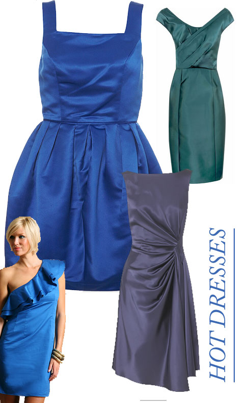 Inspiraci  N  Estilismos    Tags   Blue Dress    Pras   Vestido Azul