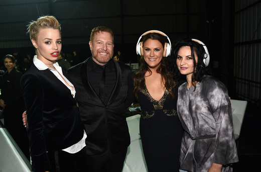 Jessica Roffey,  Ryan Kavanaugh,  Jennifer Howell and musician Rain Phoenix